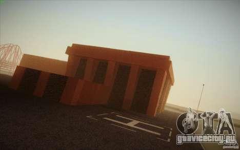 New SF Army Base v1.0 для GTA San Andreas четвёртый скриншот