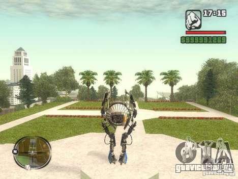 Robot из Portal 2 №1 для GTA San Andreas третий скриншот