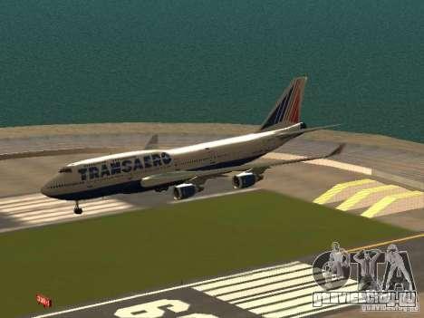Boeing 747-400 для GTA San Andreas