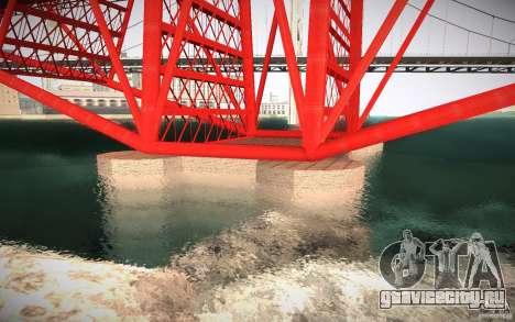 HD Red Bridge для GTA San Andreas четвёртый скриншот