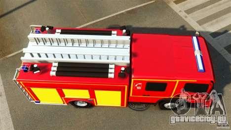 Mercedes-Benz Atego FPTGP Sapeurs Pompiers ELS для GTA 4 вид справа