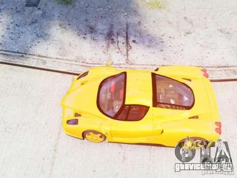 Ferrari Enzo 2002 для GTA 4 вид справа