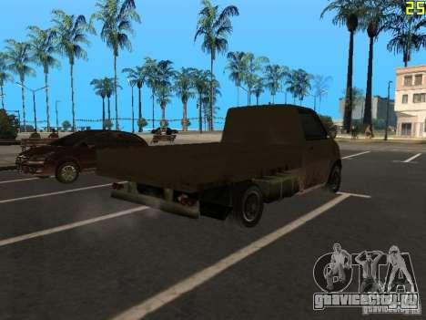 Moonbeam Пикап для GTA San Andreas вид сзади слева