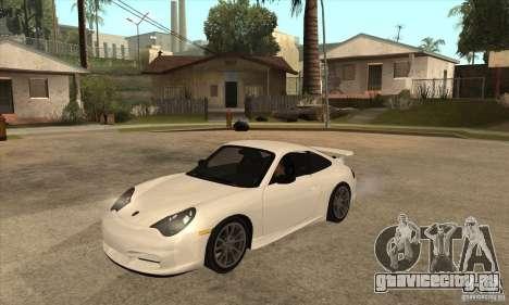 Porsche 911 GT3 (996) для GTA San Andreas