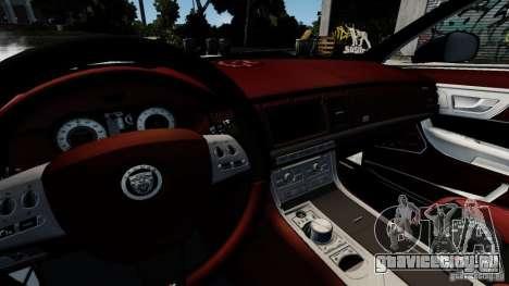 Jaguar XJ 2012 для GTA 4 вид сбоку