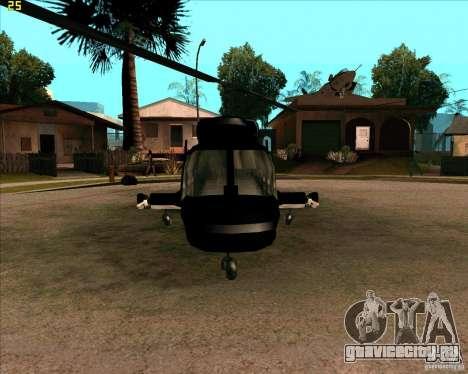 Airwolf для GTA San Andreas вид слева