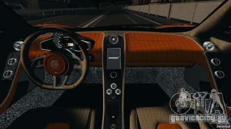 McLaren MP4-12C v1.0 [EPM] для GTA 4 вид изнутри