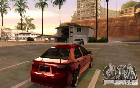 Toyota Vios для GTA San Andreas вид слева