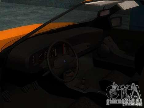 Ford Sierra Mk1 Sedan для GTA San Andreas вид сзади