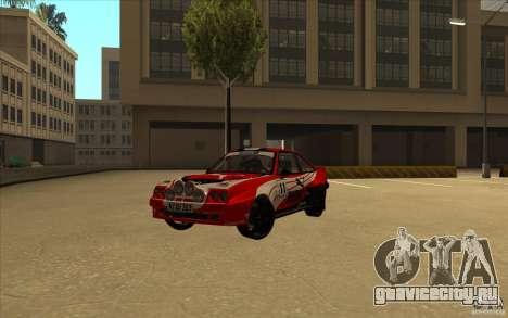 Opel Manta 400 для GTA San Andreas вид справа