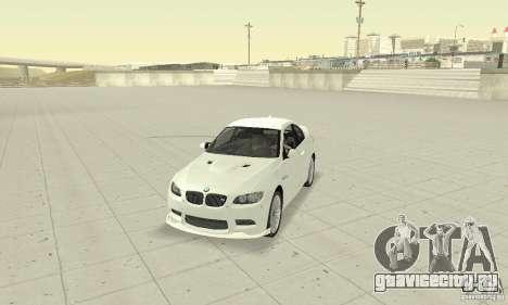 BMW M3 2008 Convertible Hamann для GTA San Andreas