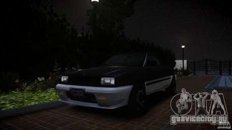 Blista Pick Up для GTA 4 вид сзади слева