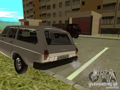 ГАЗ 31022 Волга для GTA San Andreas вид слева