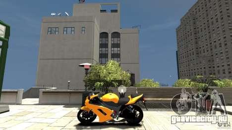 Kawasaki Ninja ZX6R 2008 Beta для GTA 4 вид слева