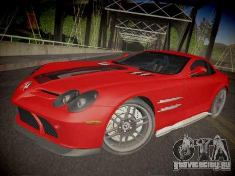 Mercedes-Benz SLR 722 Custom Edition для GTA San Andreas
