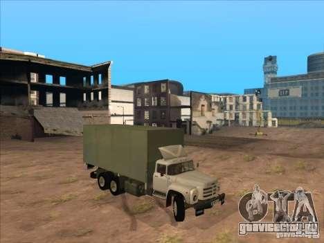 ЗиЛ-133ГЯ для GTA San Andreas вид сзади слева