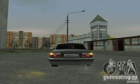 ГАЗ 3110 для GTA San Andreas вид справа