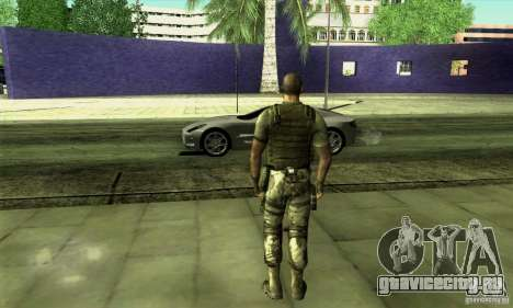 Sam Fisher Army SCDA для GTA San Andreas второй скриншот