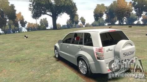 Suzuki Grand Vitara для GTA 4 вид справа