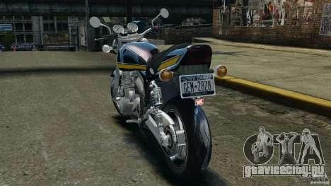 Kawasaki Zephyr для GTA 4 вид сзади слева