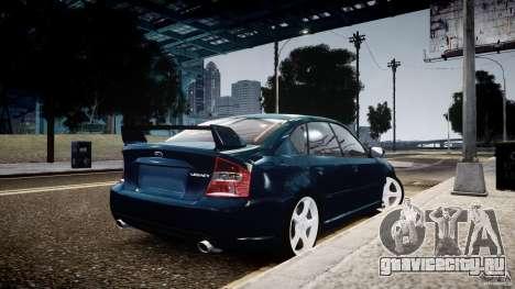 Subaru Legacy B4 GT для GTA 4 вид слева