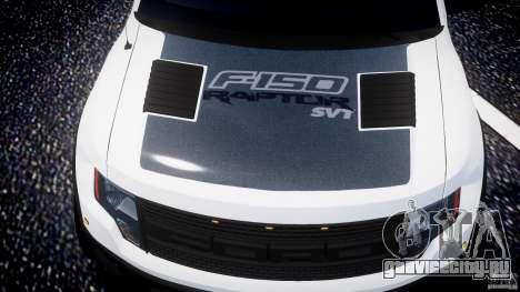 Ford F150 SVT Raptor 2011 для GTA 4 колёса