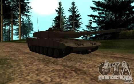 Leopard 2a7 для GTA San Andreas