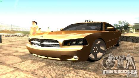 Dodge Charger SRT8 Re-Upload для GTA San Andreas вид сзади слева