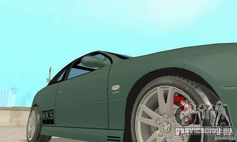 Vauxhall Monaro VXR Open SKY 2004 для GTA San Andreas вид сверху