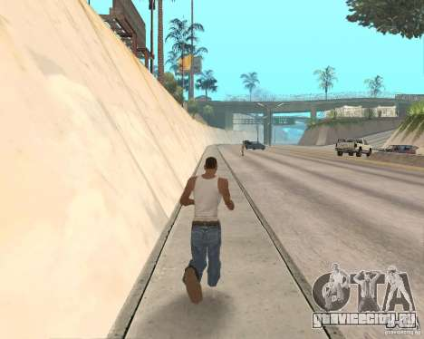 Sprint System v1.0 для GTA San Andreas второй скриншот