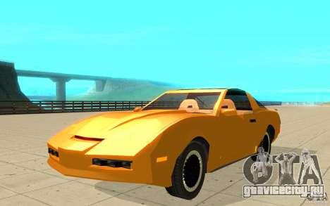 Pontiac Firebird 1989 K.I.T.T. для GTA San Andreas