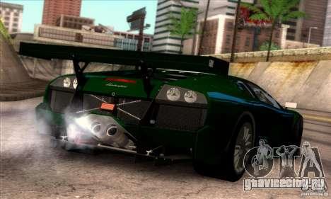 Lamborghini Murcielago R-SV GT1 для GTA San Andreas салон