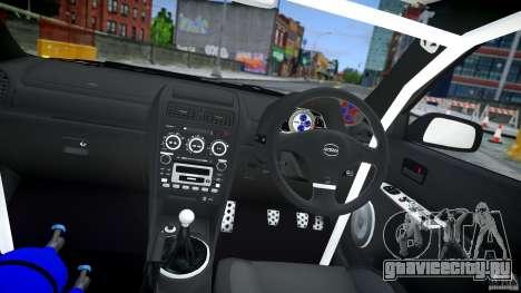 Toyota Altezza для GTA 4 вид сбоку