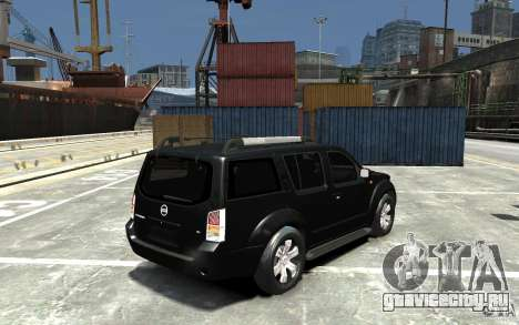 Nissan Pathfinder 2006 для GTA 4 вид справа