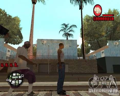 HUD by Russkiy для GTA San Andreas второй скриншот