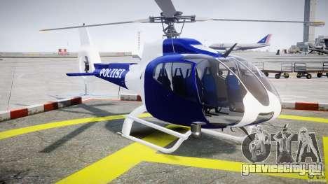 Eurocopter EC 130 Finnish Police для GTA 4 вид справа