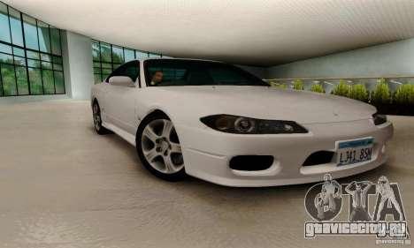 Nissan Silvia S15 Tunable для GTA San Andreas вид сзади слева