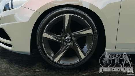 Volvo S60 R Design для GTA 4 вид сверху
