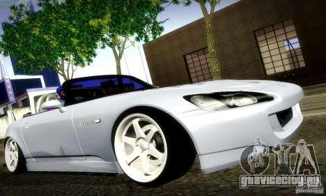 Honda S2000 Street Tuning для GTA San Andreas вид слева