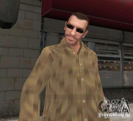 Новые очки для Нико - черные для GTA 4