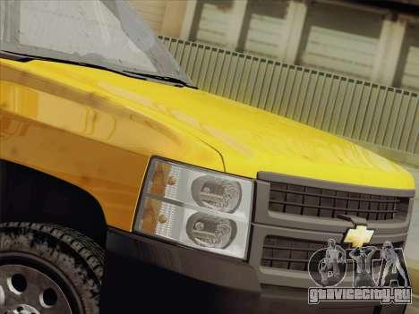 Chevrolet Silverado 2500HD 2013 для GTA San Andreas вид изнутри