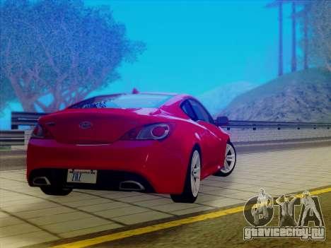 ENB v1.2 by TheFesya для GTA San Andreas шестой скриншот
