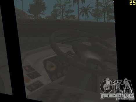 Neoplan Tourliner для GTA San Andreas вид изнутри