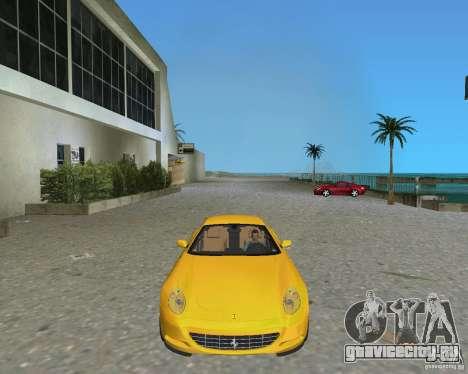 Ferrari 612 Scaglietti для GTA Vice City вид сзади слева
