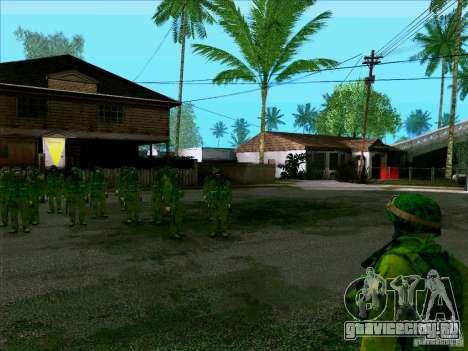 Morpeh лесной камуфляж для GTA San Andreas третий скриншот
