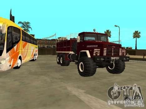 КрАЗ 260 для GTA San Andreas вид слева