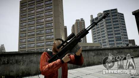 Accuracy International AS50 для GTA 4 второй скриншот