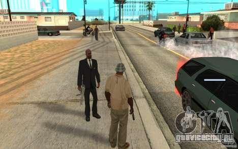 Охрана для Сиджея для GTA San Andreas третий скриншот