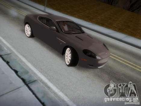 Aston Martin DB9 для GTA San Andreas вид сбоку