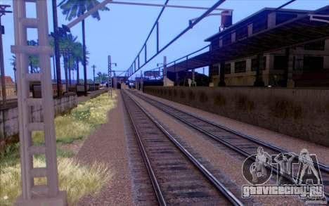 Русская ЖД модификация v1.0 для GTA San Andreas пятый скриншот